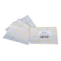 Etikett címke 38x20 mm 60 db/csomag