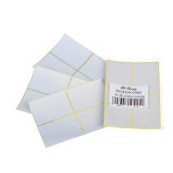 Etikett címke 56x38 mm 60 db/csomag