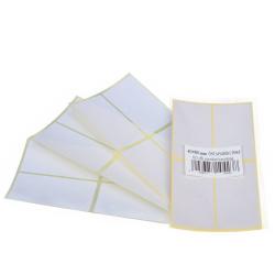 Etikett címke 80x40 mm 60 db/csomag