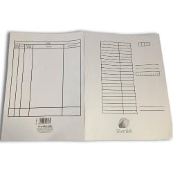 Gyorsfűző papír SilverBall A/4 230g fehér