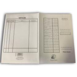 Pólyás iratgyűjtő SilverBall A/4 fehér